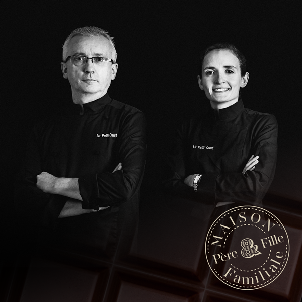 Marie and Jean-Jacques Etchepare french chocolatier