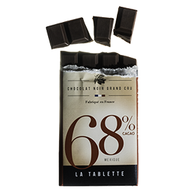 Tablette chocolat noir 68% mexique