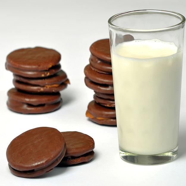Dégustation du chocolat au lait