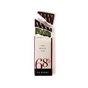 Barre de chocolat 68% de cacao origine Mexique- Le Petit Carré de chocolat