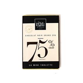 la mini tablette chocolat 75 origine tanzanie-Le petit carre de chocolat.jpg